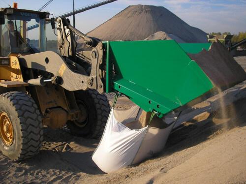 Open Top Bulk Bag loader